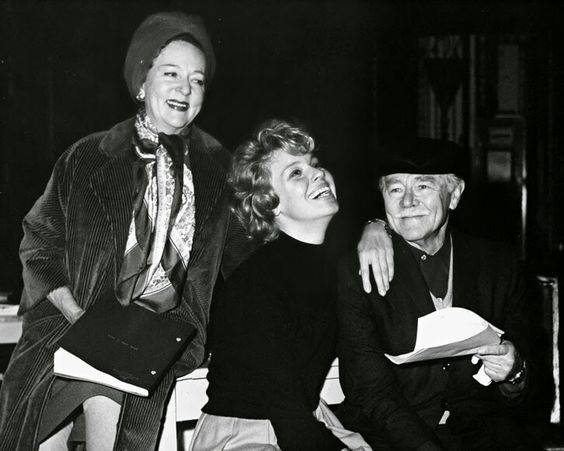 Jessie Royce Landis, Betsy Palmer and Charles Ruggles in rehearsal for