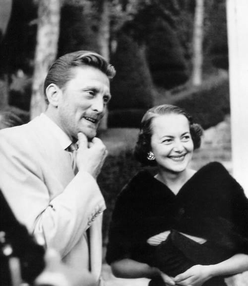 Kirk Douglas & Olivia De Havilland