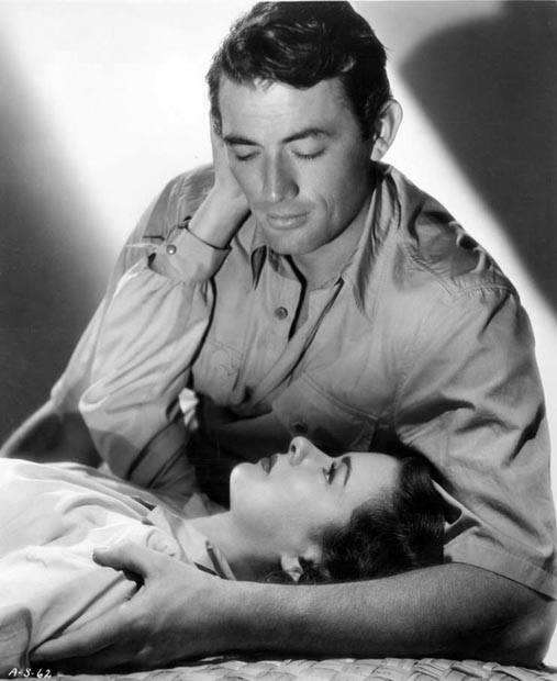 Gregory Peck e Joan Bennett