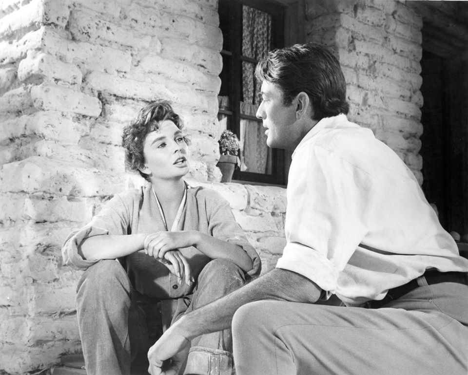 Gregory Peck e Jean Simmons