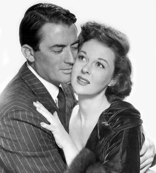 Gregory Peck & Susan Hayward