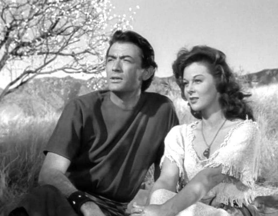 Gregory Peck e Susan Hayward