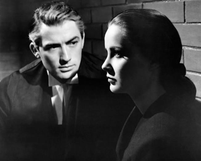 Gregory Peck e Alida Valli