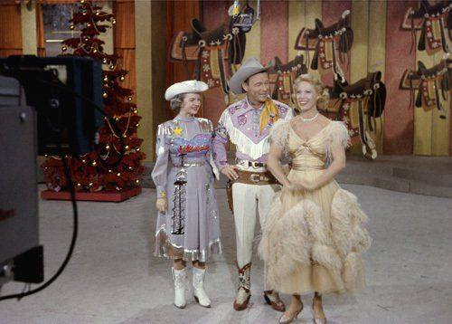 Dale Evans, Roy Rogers and Dinah Shore