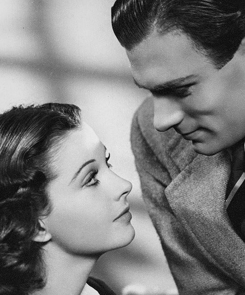 Vivien Leigh and Laurence Oliver