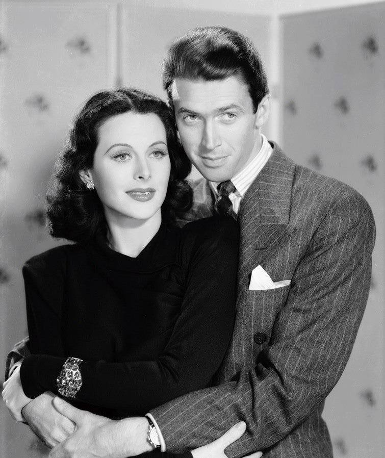 Hedy Lamarr & James Stewart