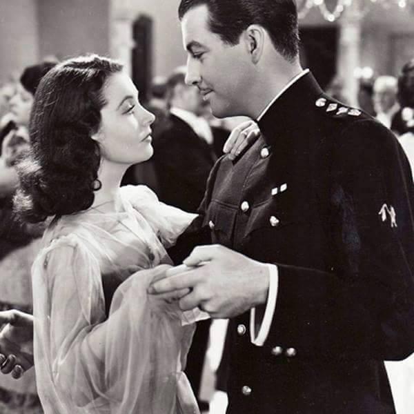 Vivien Leigh & Robert Taylor