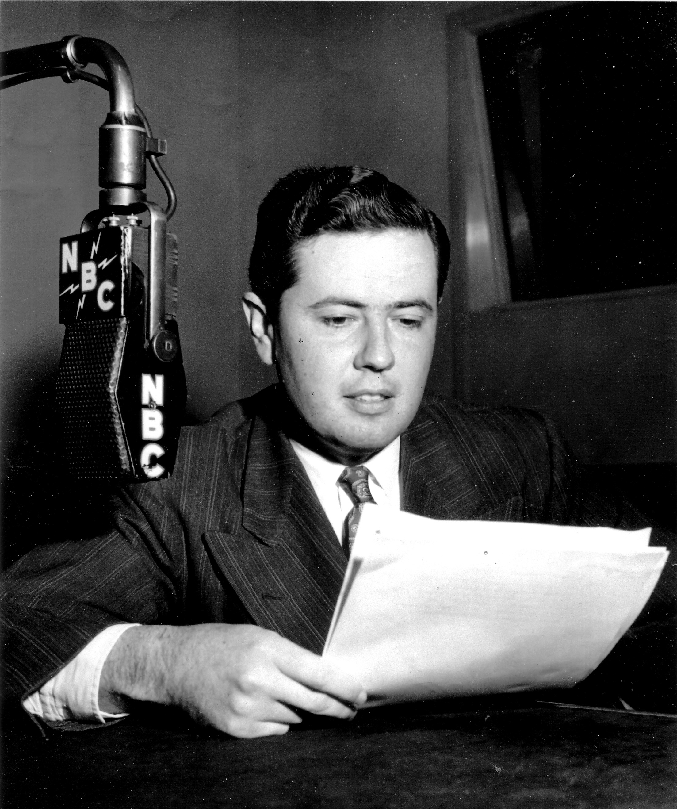 Thought you might like using one of these photos of my father, Don Stanley, who was the announcer on several of the OTR shows.