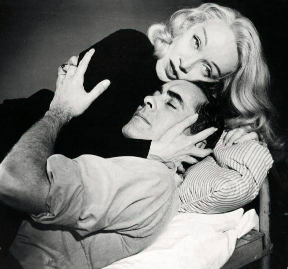 MARLENE DIETRICH & TYRONE POWER