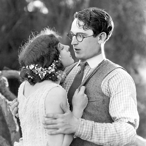 Harold Lloyd and Jobyna Ralston