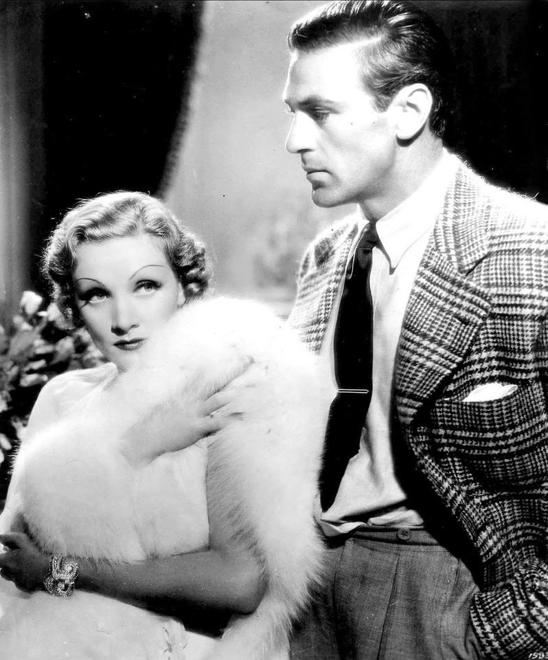 Marlene Dietrich & Gary Cooper