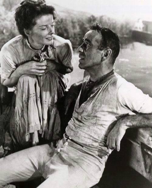 Katharine Hepburn & Humphrey Bogart