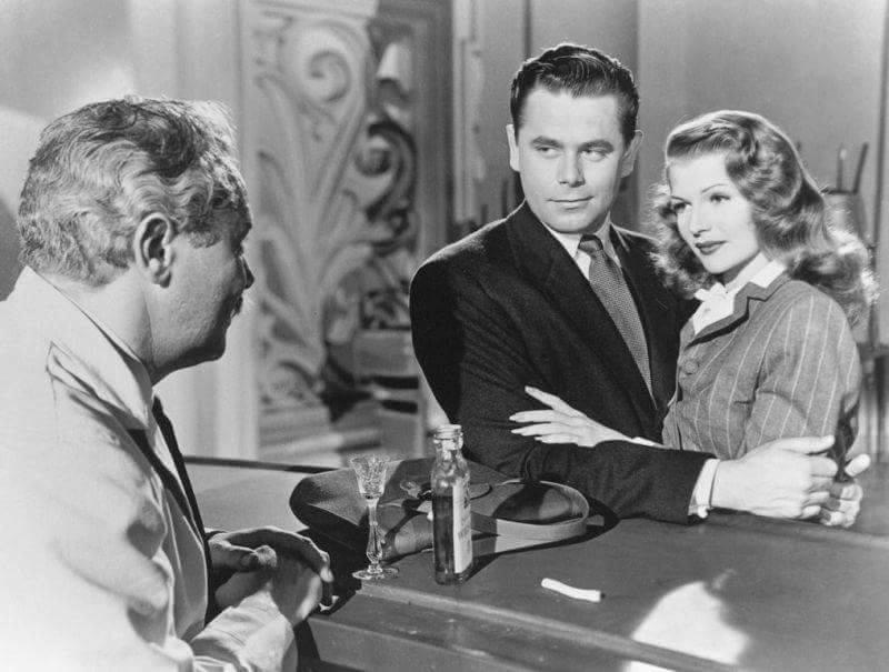Steven Geray,Gleen Ford & Rita Hayworth