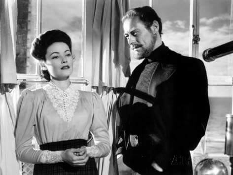 Gene Tierney & Rex Harrison -The Ghost and Mrs.Muir(1947).