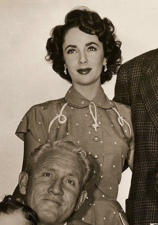 Elizabeth Taylor & Spencer Tracy