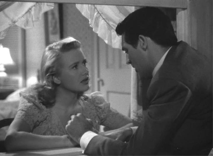 Priscilla Lane & Cary Grant