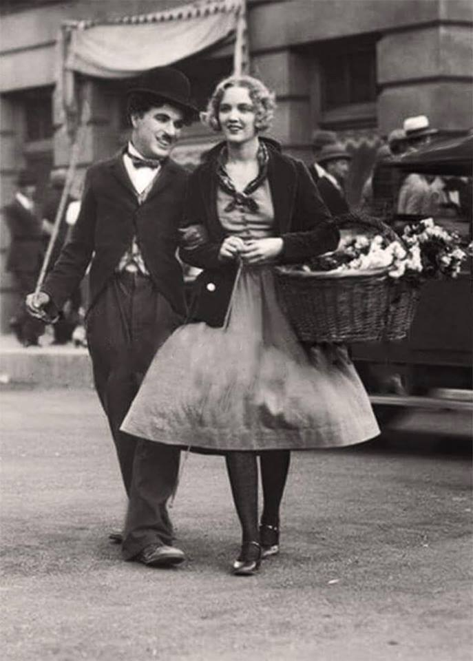 Chalie Chaplin & Virginia Cherrill