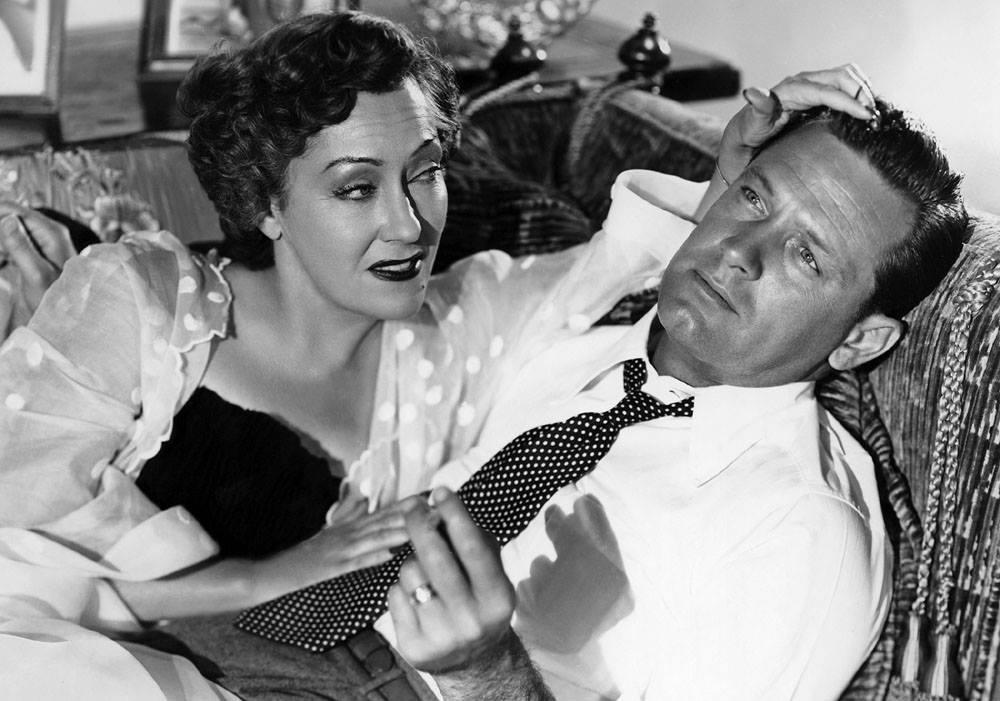 William Holden e Gloria Swanson
