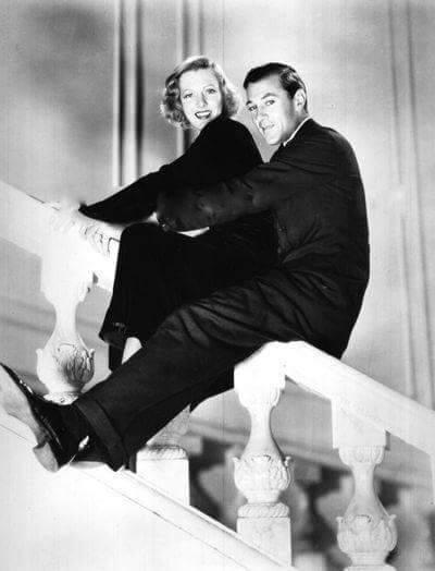 Jean Arthur & Gary Cooper