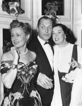 Irene Dunne,Robert Montgomery & Rosalind Russell