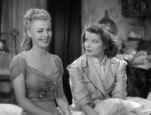 Ginger Rogers & Katharine Hepburn