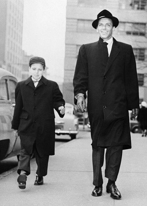 Frank Sinatra Senior & son