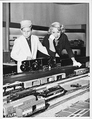 Arlene Francis and Peter Gabel, 1957