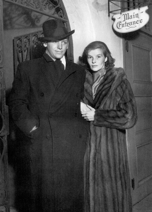 Douglas Fairbanks,jr & Katharine Hepburn