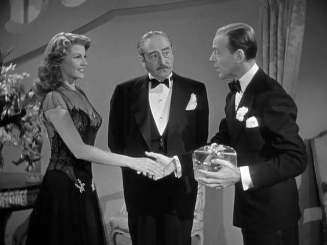 Rita Hayworth,Adolphe Menjou & Fred Astaire
