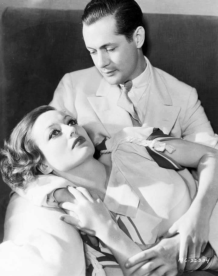 Joan Crawford & Robert Montgomery