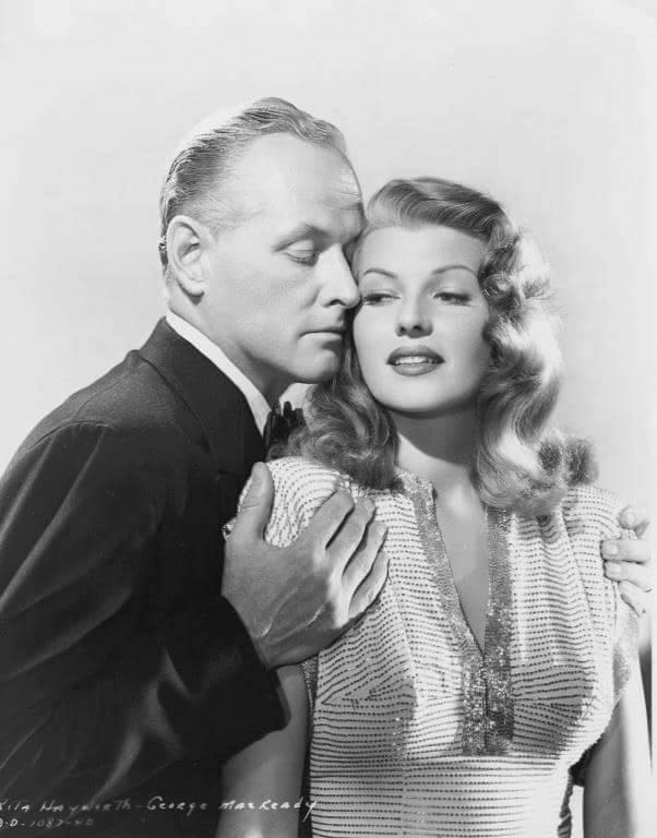 George Macready & Rita Hayworth