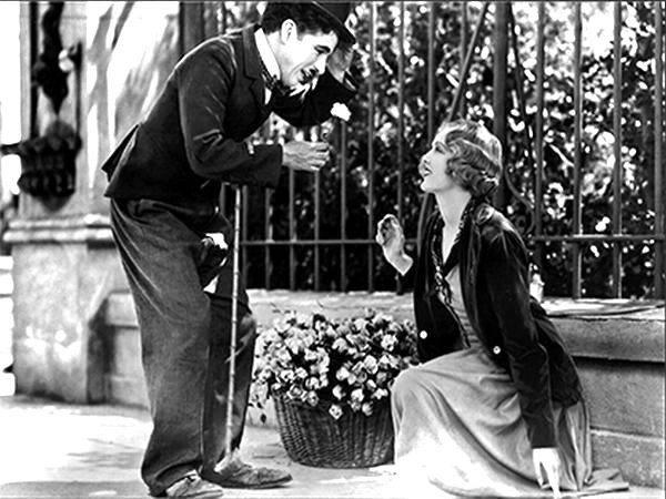 Charlie Chaplin e Virginia Cherrill