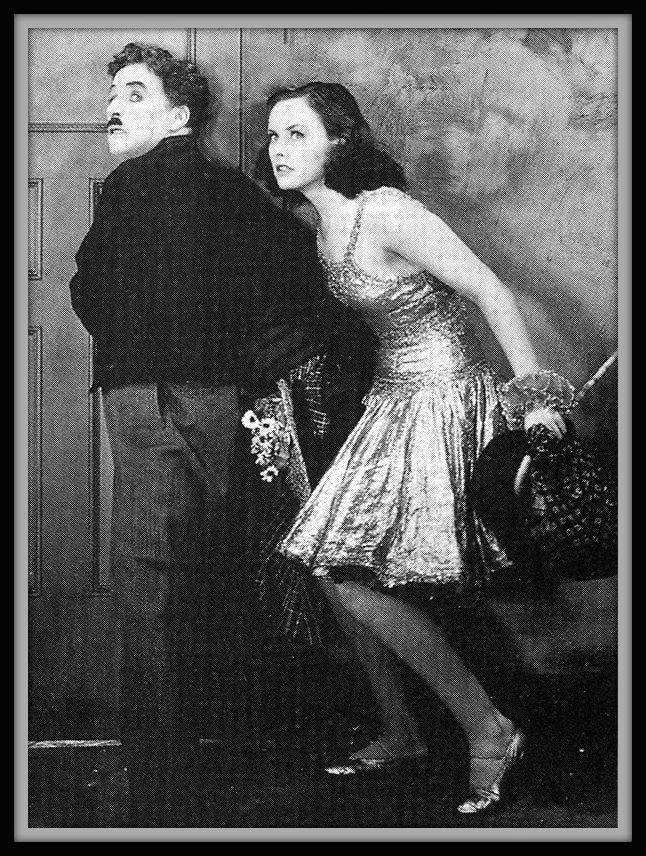 Charlie Chaplin e Paulette Goddard