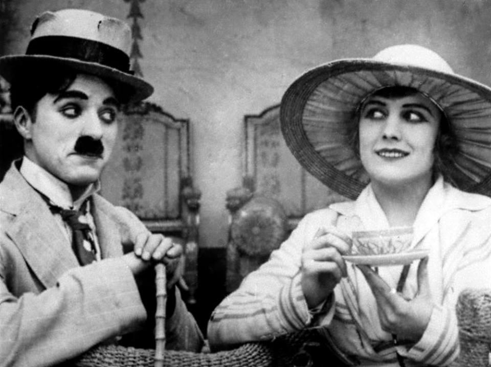 Charlie Chaplin ed Edna Purviance