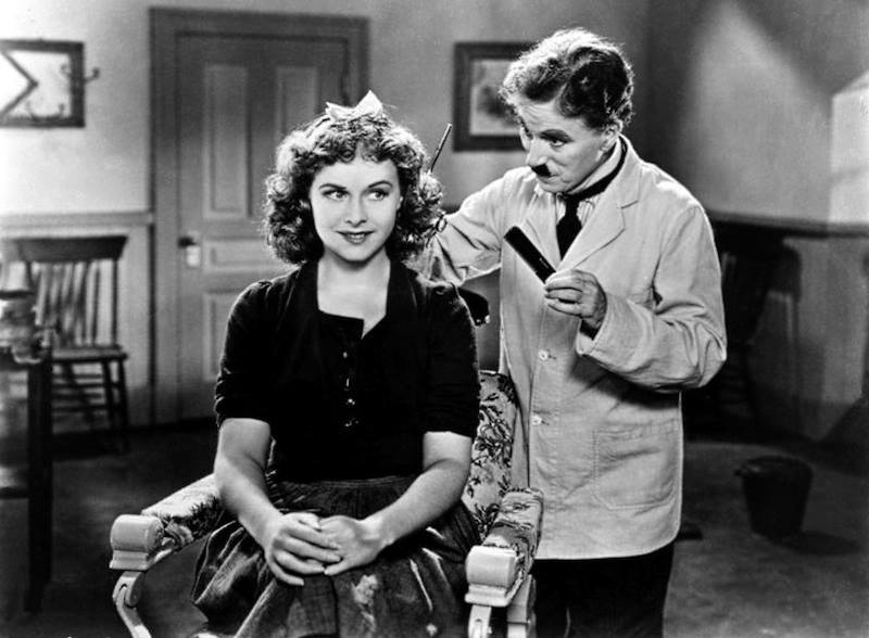 harlie Chaplin e Paulette Goddard