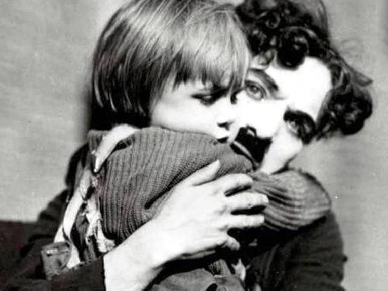 Charlie Chaplin e Jackie Coogan