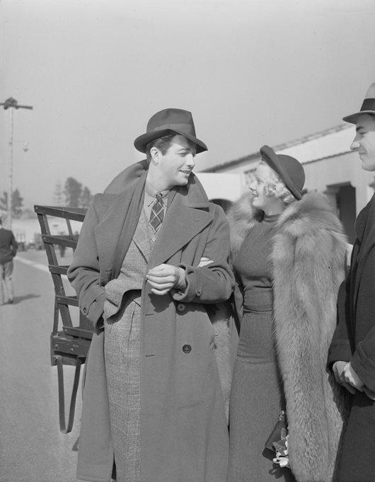 Robert Taylor & Jean Harlow