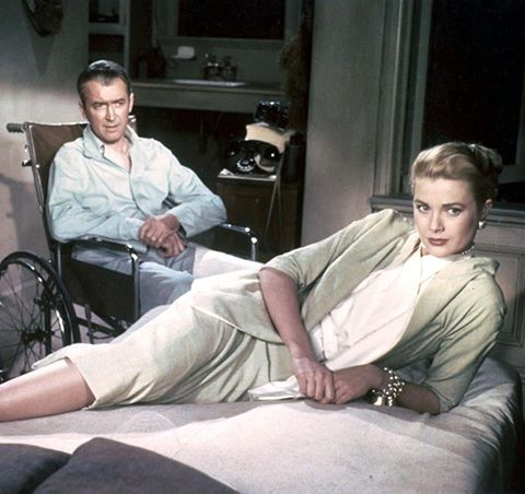 Grace Kelly with James Stewart