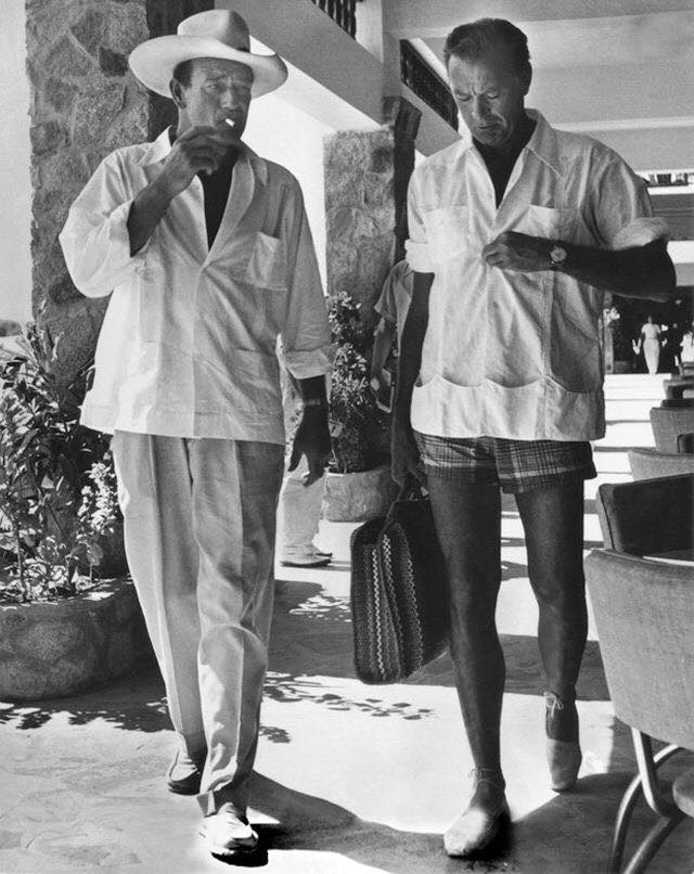 John Wayne & Gary Cooper