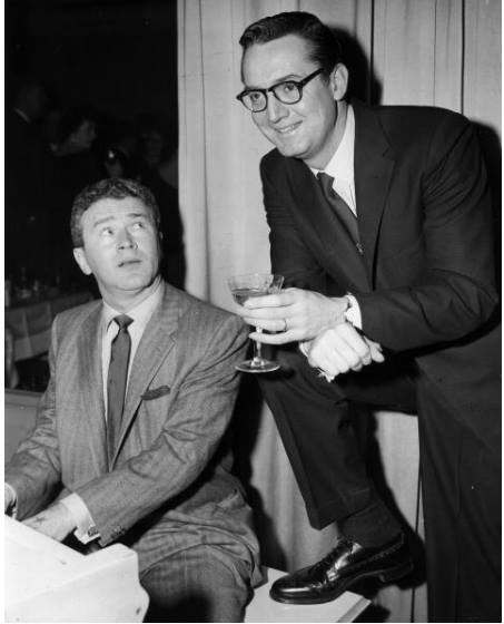 Red Buttons and Steve Allen