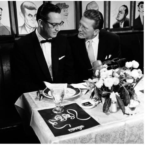 Steve Allen and Kirk Douglas