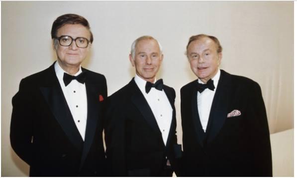 The Tonight Show hosts Steve Allen, Johnny Carson, Jack Paar