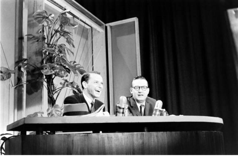 Frank Sinatra and Steve Allen