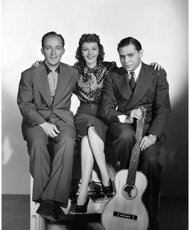 Bing Crosby, Mary Martin, and Oscar Levant
