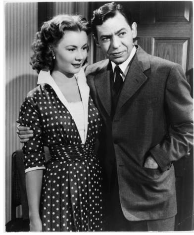 Oscar Levant and Mitzi Gaynor