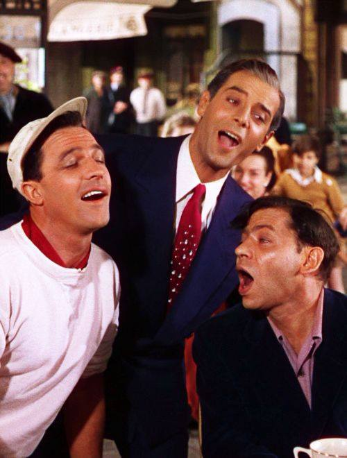 ''An American in Paris'' with Gene Kelley, Georges Guétary, and Oscar Levant