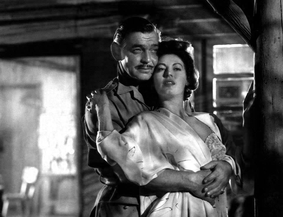 Clark Gable e Ava Gardner