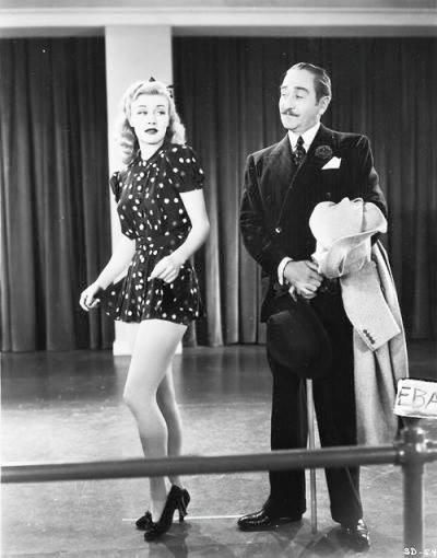 Ginger Rogers & Adolphe Menjou