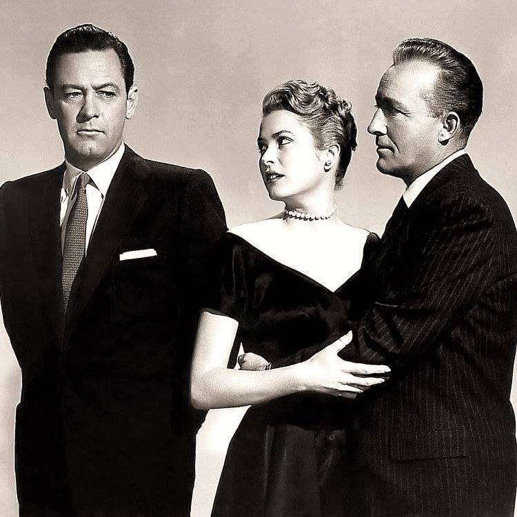 Grace Kelly with William Holden and Bing Crosby