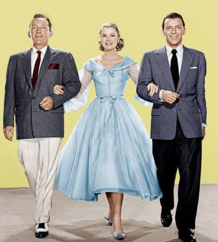 BING CROSBY, GRACE KELLY and FRANK SINATRA